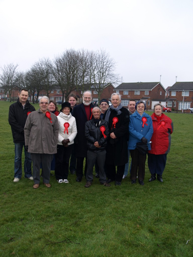 A team out in Milton - part of the Swale Central division-  today