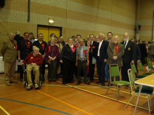 Some of our Labour activists at the Swale count on 3rd May 2013