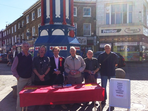 Sheerness Street Stall August 2013 v.2